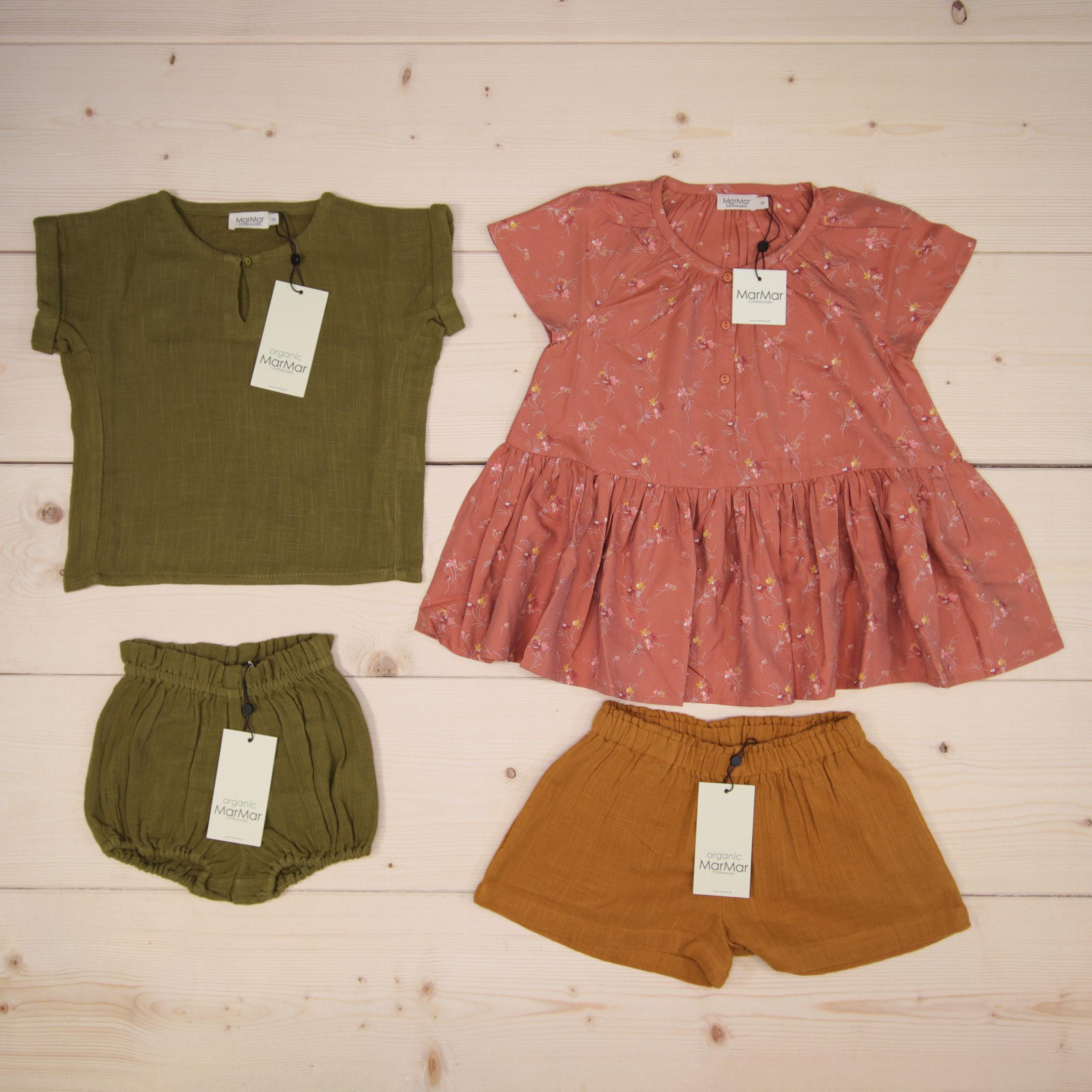 MarMar news SS20  Dette er Småpakke som vi forberedte for en jente i stilene cute og minimalistic