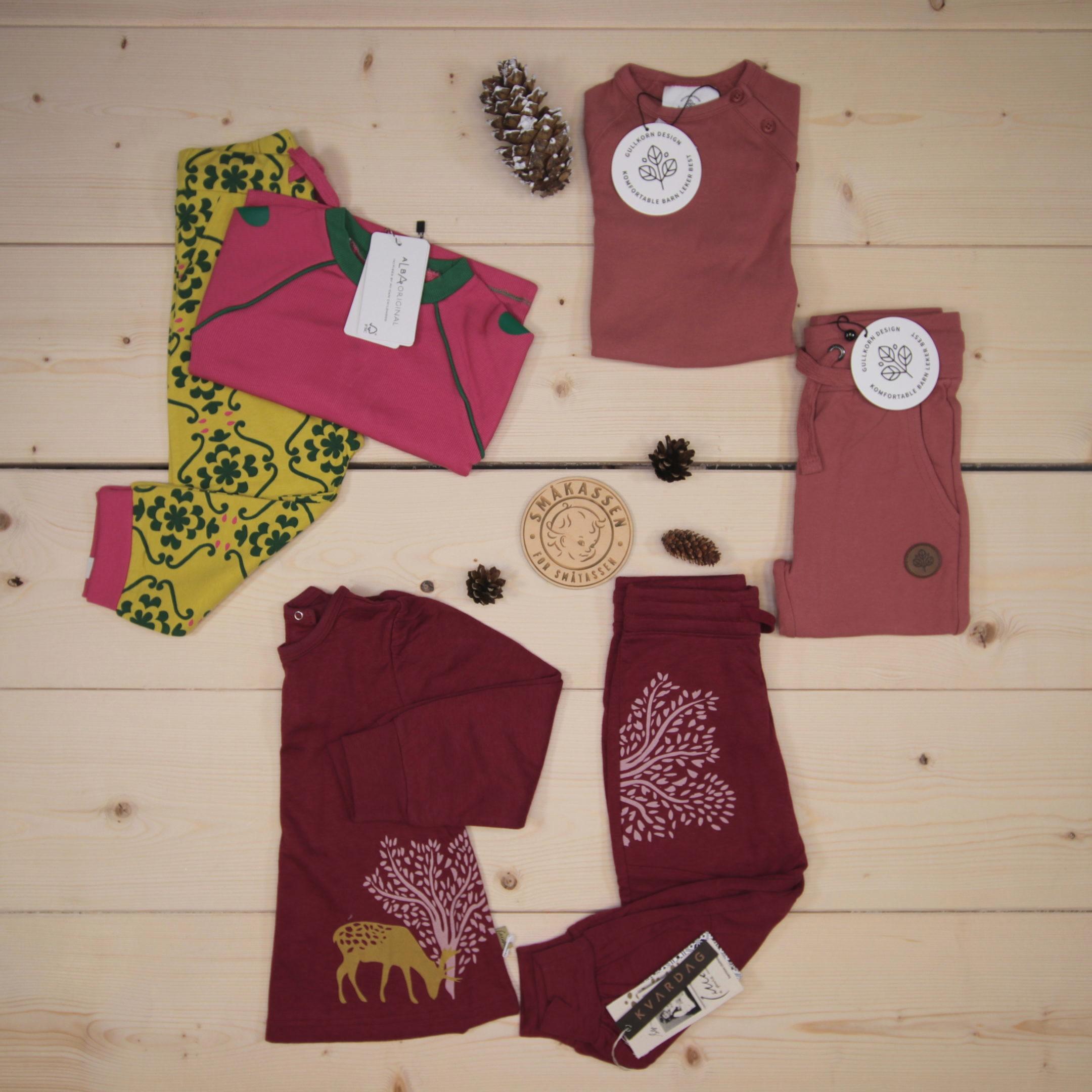 Dette er en 1500 NOK* The Childish Stylist som vi forberedte for en jente i stilene cute, cool, og colorful i størrelse 92