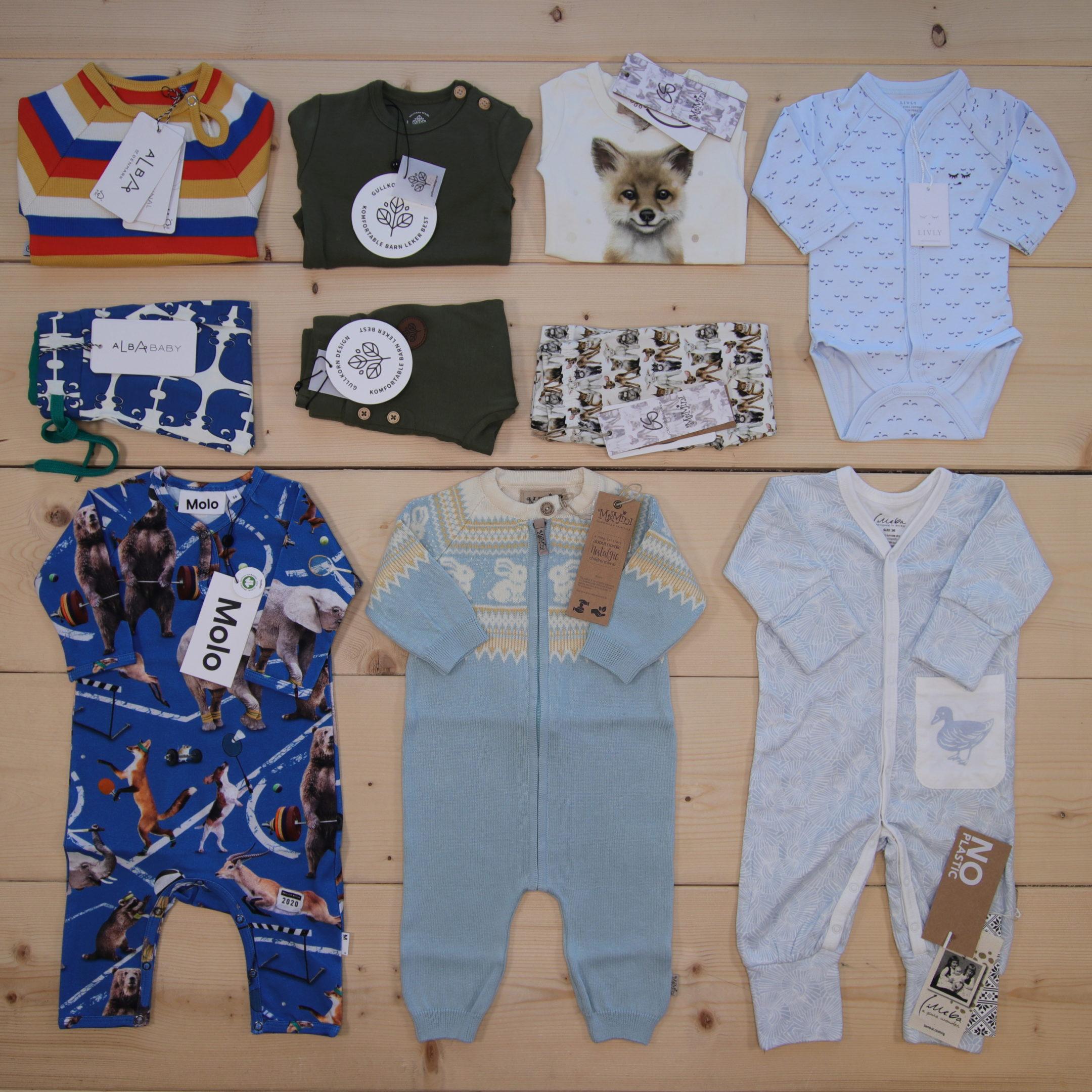 Dette er en 3000 NOK* The Childish Stylist som vi forberedte for en gutt i stilene cute, cool, og colorful i størrelse 56