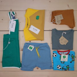 This is a The Childish Stylist that we prepared for a boy in the styles cool and minimalistic in size .
