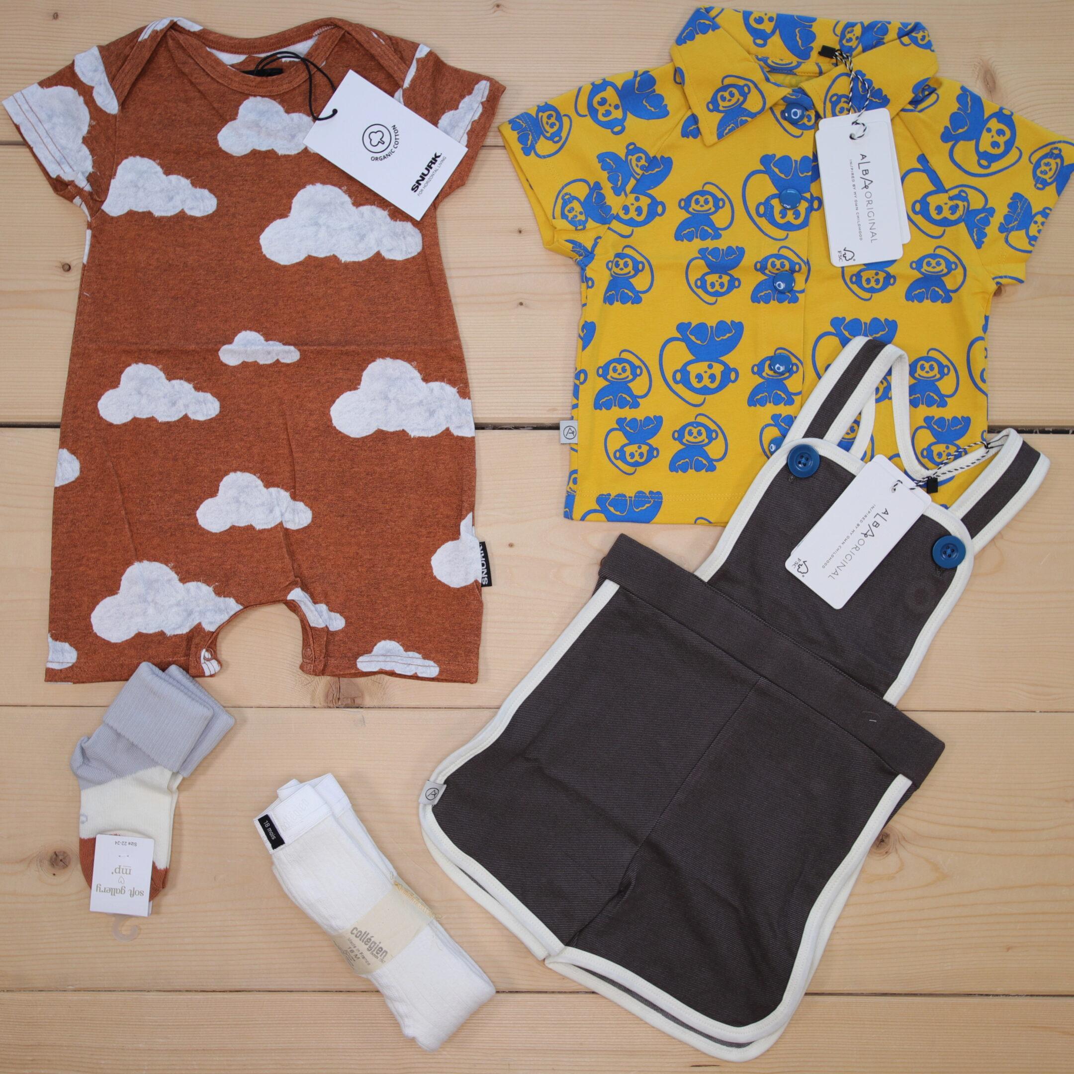 Dette er en 1500 NOK* The Childish Stylist som vi forberedte for en gutt i stilene cute og cool i størrelse 80