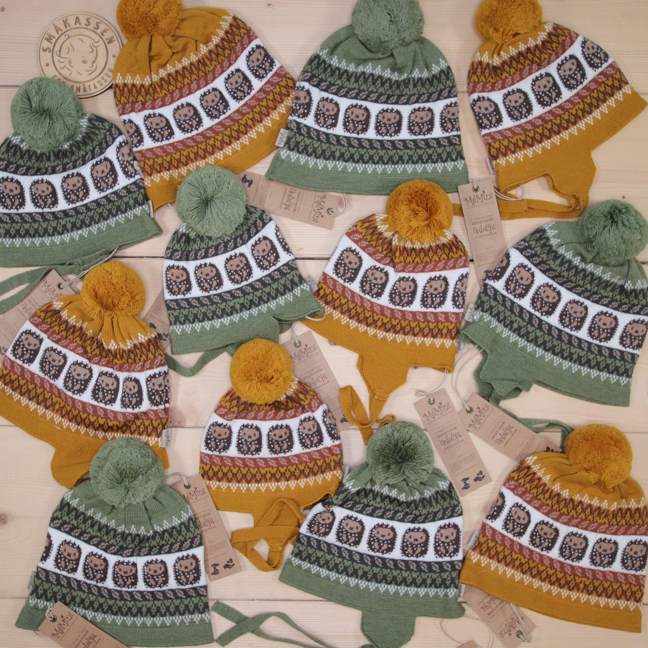 AW20 NEWS: Cute hats from MeMini 🦔😍 #memini #AW20 #news @memini.no  Dette er Småpakke som vi forberedte  i stilen cute