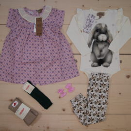 This is a The Childish Stylist that we prepared for a girl in the style cute in size .
