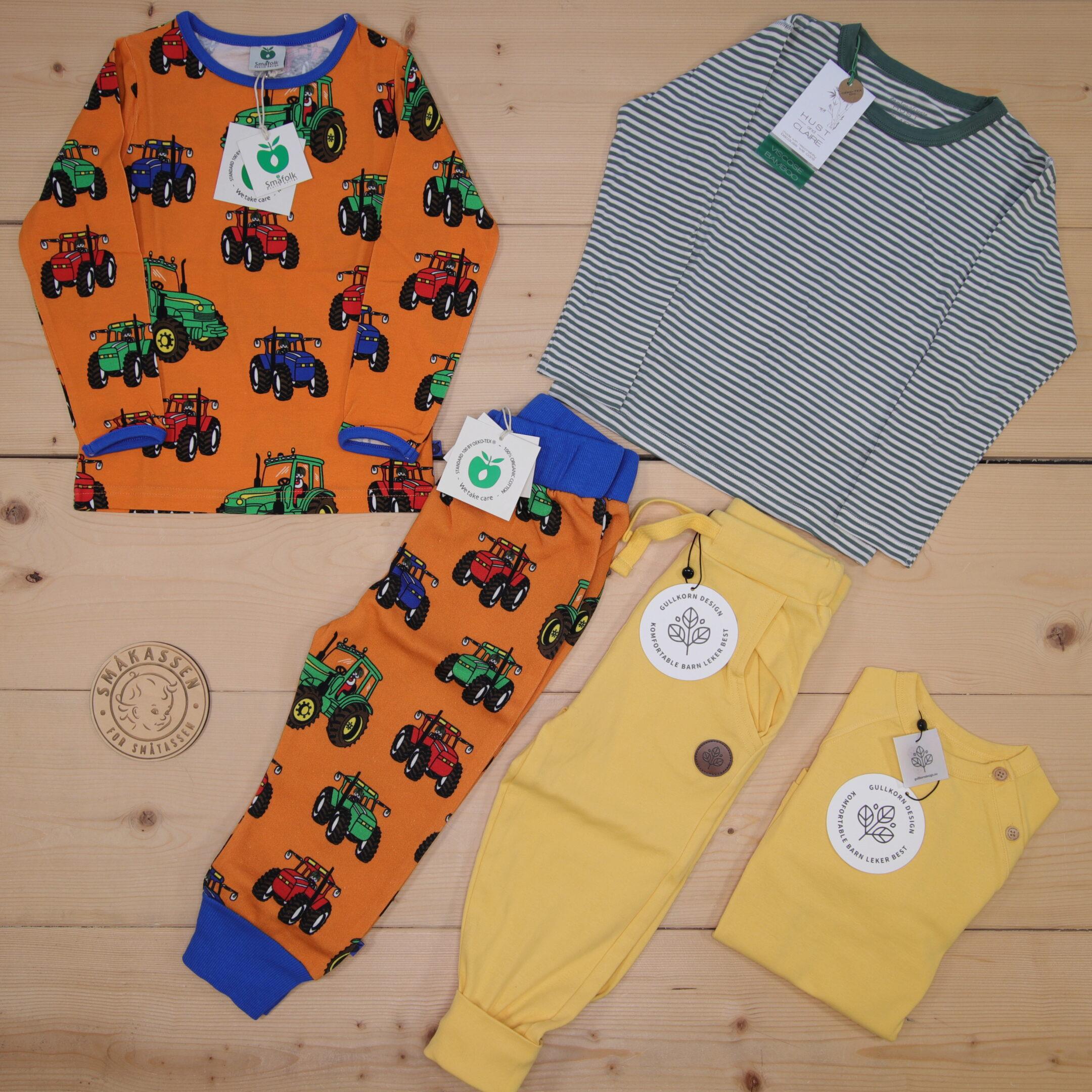 Dette er en 1500 NOK* The Childish Stylist som vi forberedte for en gutt i stilene colorful, cool, og cute i størrelse 98