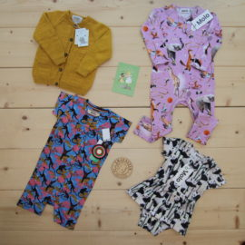 This is a The Childish Stylist that we prepared for a boy in the style colorful in size .