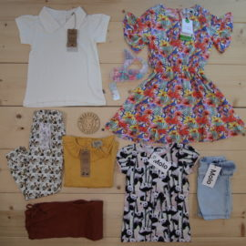 This is a The Childish Stylist that we prepared for a girl in the style colorful in size .