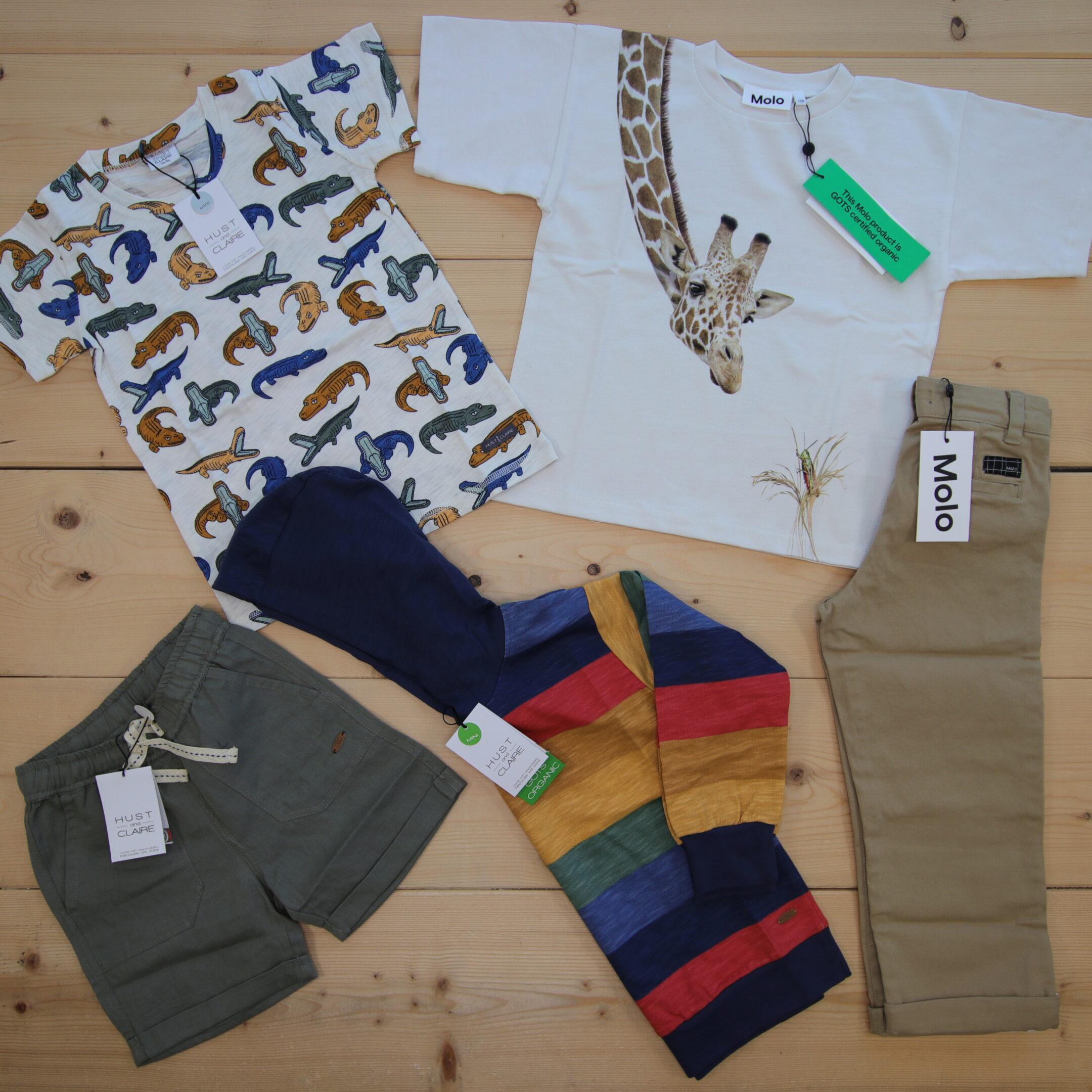 Dette er Småpakke som vi forberedte for en gutt i stilene cool og colorful