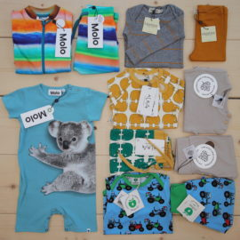 This is a The Childish Stylist that we prepared for a boy in the styles cool and colorful in size .