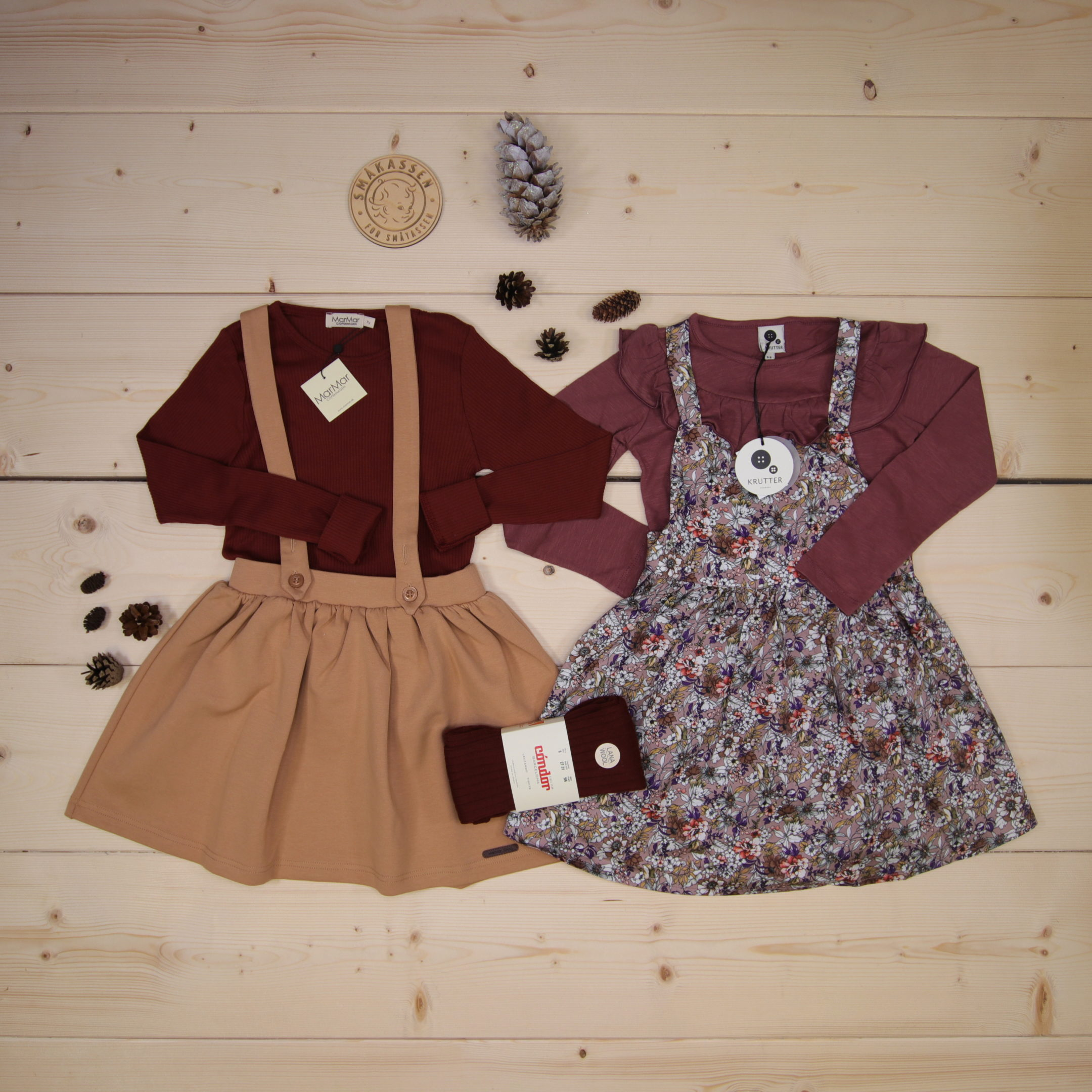 This is Småkassen that we prepared for a girl in the style cute in size 116.