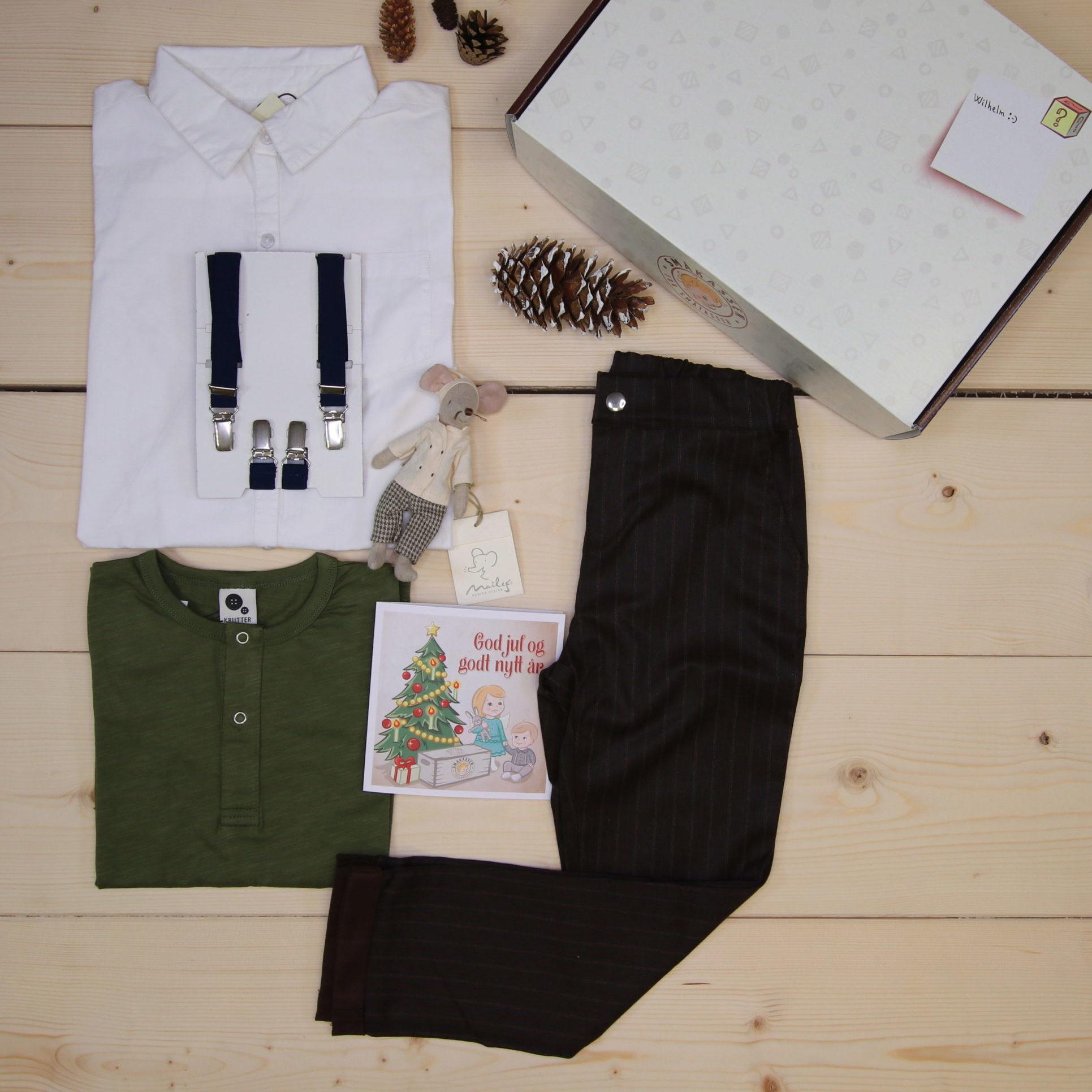 Dette er en 1500 NOK* The Childish Stylist som vi forberedte for en gutt i stilene cool og colorful i størrelse 122