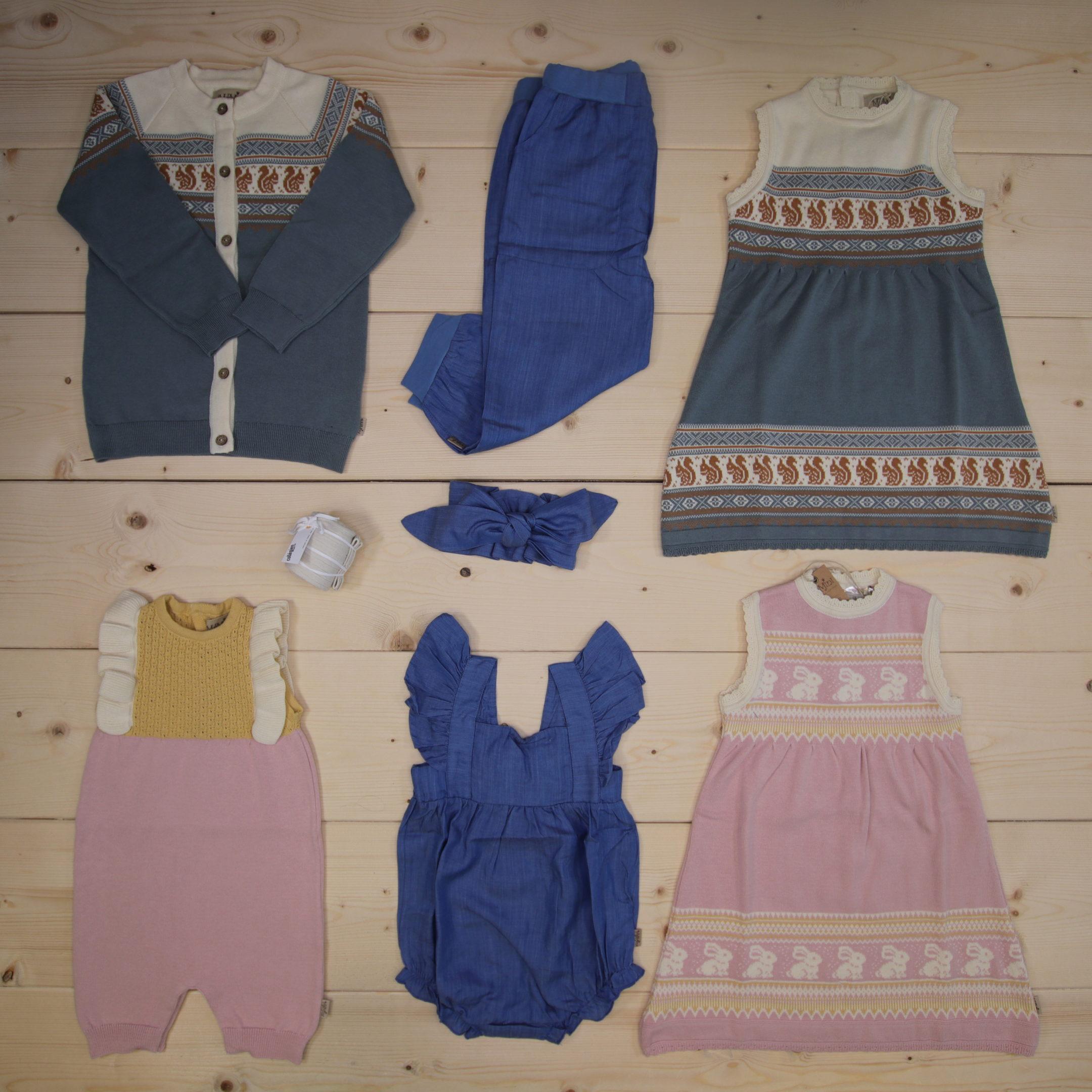 NEW: Look at this cute clothing from ss20 MeMini 💗💛🐿🐇  #memini@memini.no #ss20  Dette er en 3000 NOK* The Childish Stylist som vi forberedte for en jente i stilen cute i størrelse 92