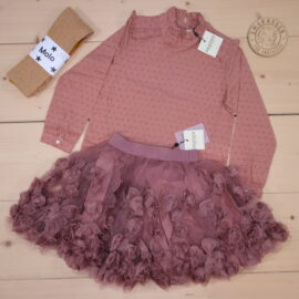 This is a The Childish Stylist that we prepared for a girl in the styles cool and cute in size .