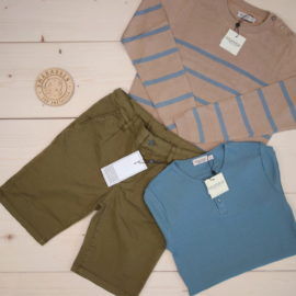 More news from MarMar  This is a The Childish Stylist that we prepared for a boy in the styles cute and minimalistic in size .