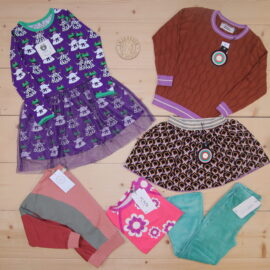 This is a The Childish Stylist that we prepared for a girl in the styles cool and colorful in size .