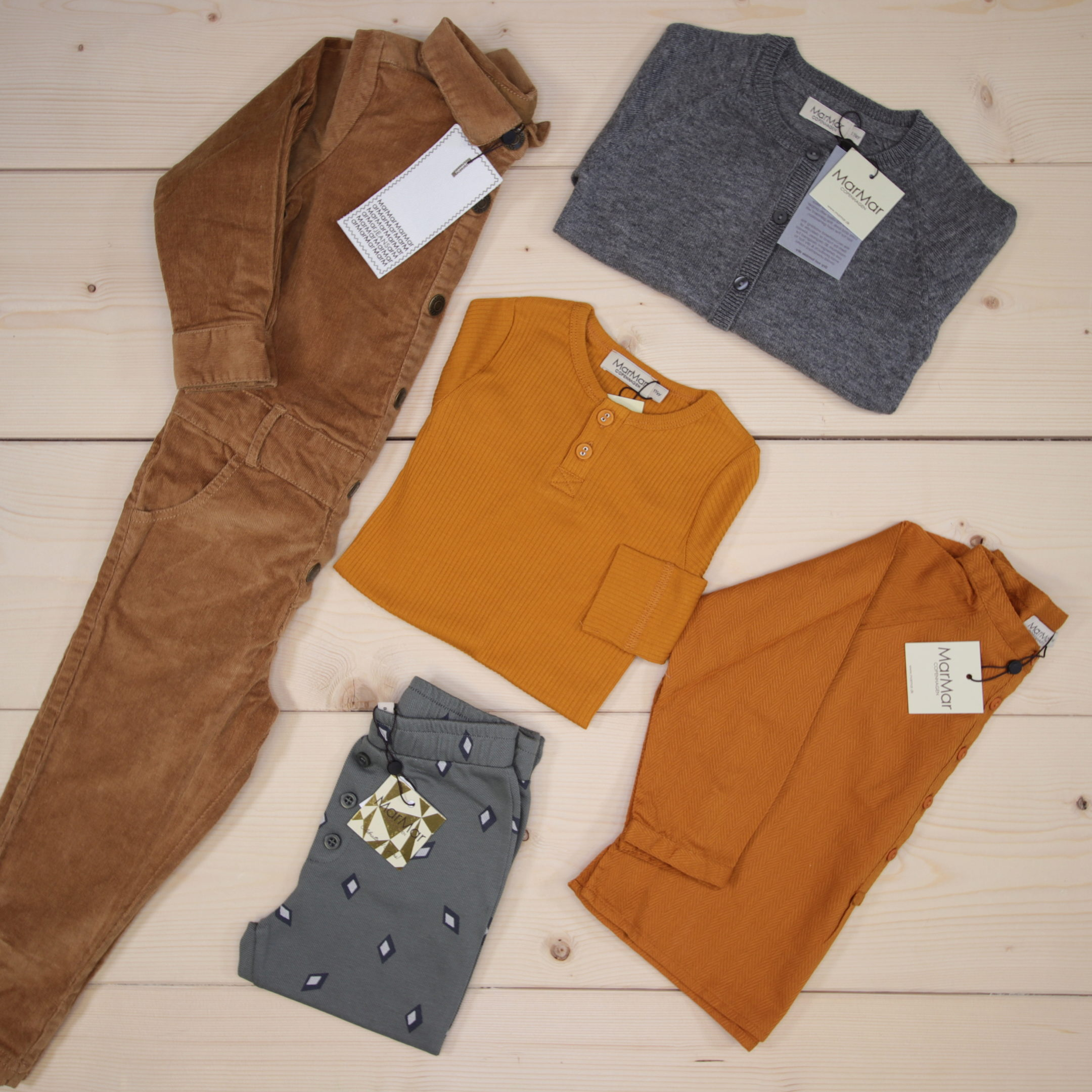 This is a 1500 NOK* Småkassen that we prepared for a boy  in the styles cute, cool, and colorful in size 86