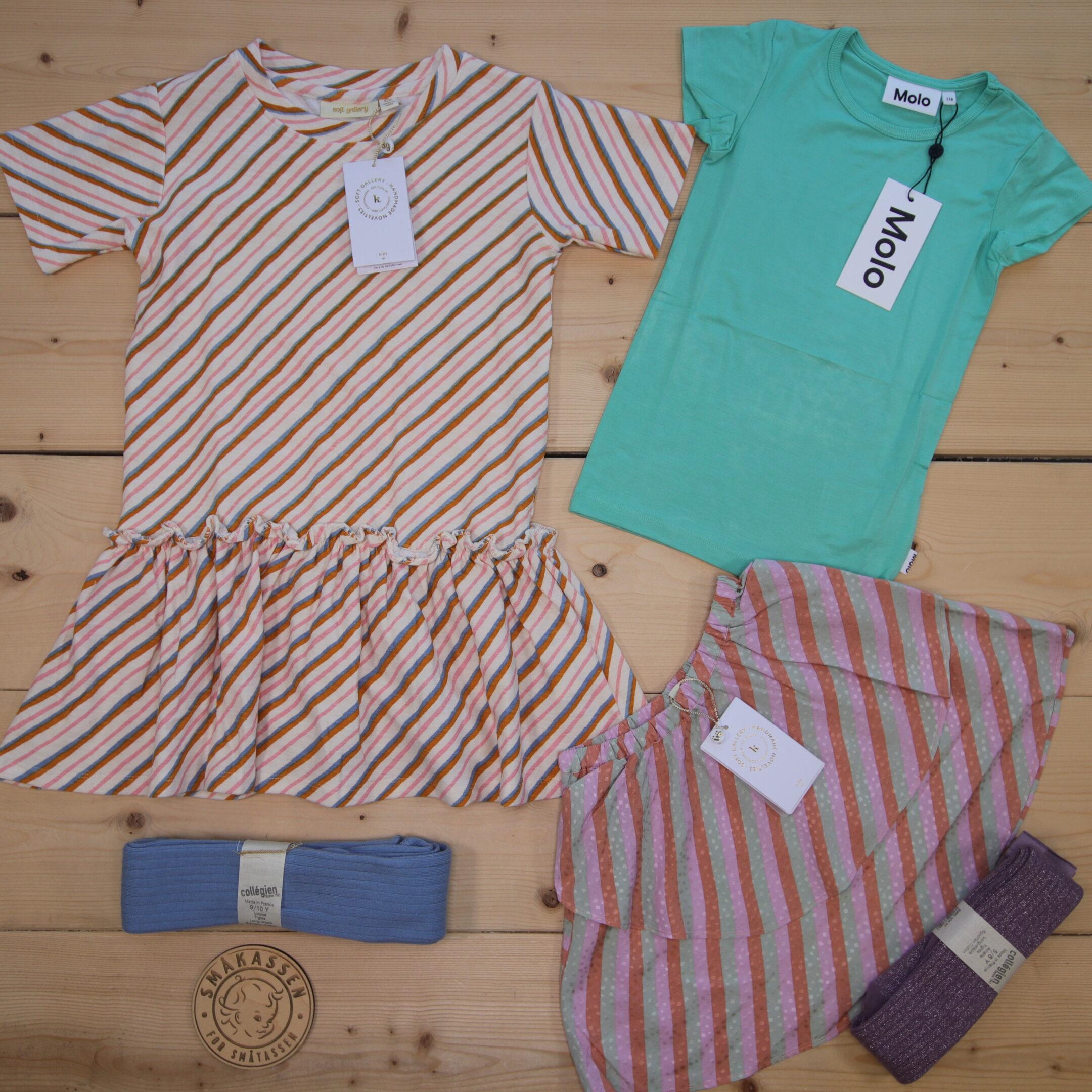 Dette er en 1500 NOK* The Childish Stylist som vi forberedte for en jente i stilen colorful i størrelse 116