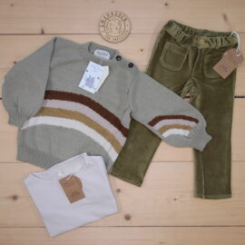 This is a The Childish Stylist that we prepared for a boy in the style cute in size .
