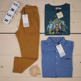 🔸🔸🔸Summer/Spring 2020 News from MarMar 🔸🔸🔸  Beautiful soft colors and fabrics ❤️  ✓ MarMar - Porter - Pants  ✓ MarMar - Ted - T-shirt ✓ MarMar - Theo - Mid Denim Blue - Shirt  #marmar @marmarcopenhagen