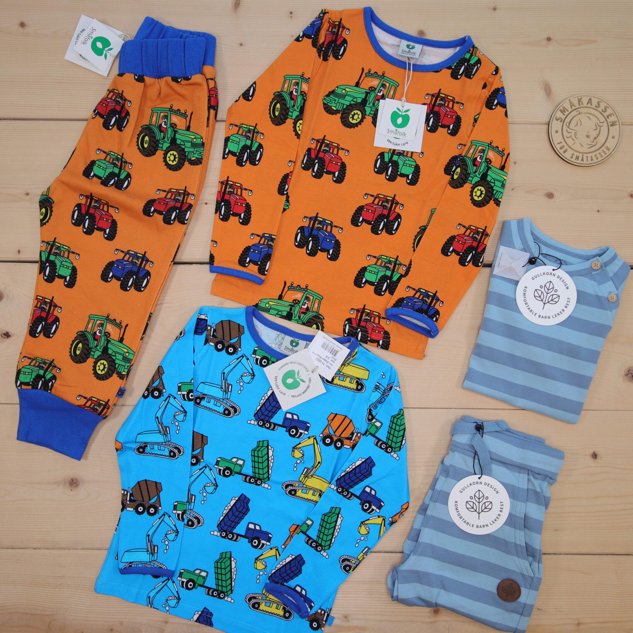 Dette er en 1500 NOK* The Childish Stylist som vi forberedte for en gutt i stilene cool og colorful i størrelse 92